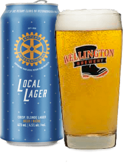 Local Lager by Wellington Brewery Guelph